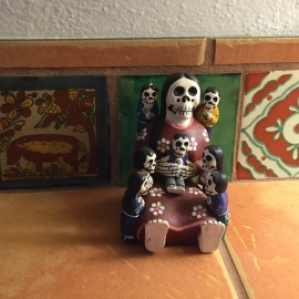 this is new mexico and we finished just about dia de los muertos